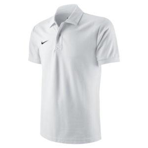 Nike Team Core Polo White Black