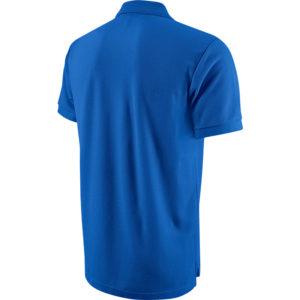 Nike Team Core Polo Royal Blue White Back