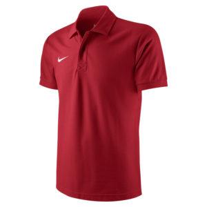 Nike Team Core Polo Red White