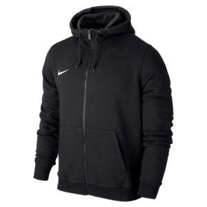 Nike Team Club Full Zip Hoody Black Black