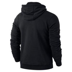Nike Team Club Hoody Black Black Back