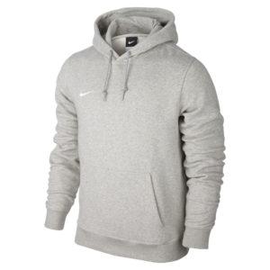 Nike Team Club Hoody Grey Heather Football White
