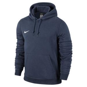 Nike Team Club Hoody Obsidian Football White