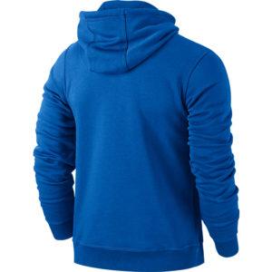 Nike Team Club Hoody Royal Blue Football White Back