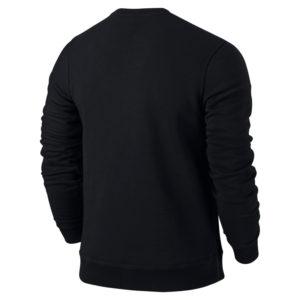 Nike Team Club Crew Black Black Back