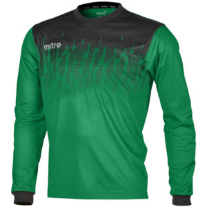 Mitre Command Goalkeeper Jersey Emerald Black
