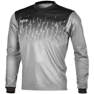 Mitre Command Goalkeeper Jersey Grey Black