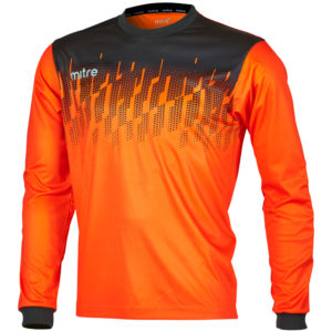 Mitre Command Goalkeeper Jersey Tangerine Black