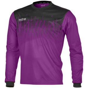 Mitre Command Goalkeeper Jersey Violet Black