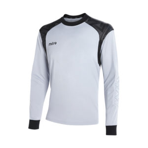 Mitre Guard Goalkeeper Jersey Silver Black