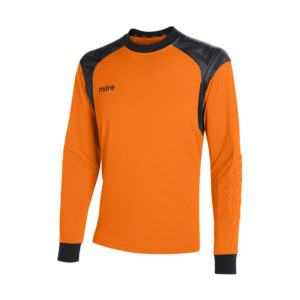 Mitre Guard Goalkeeper Jersey Tangerine Black