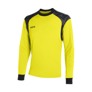 Mitre Guard Goalkeeper Jersey Yellow Black