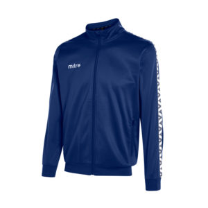 Mitre Delta Poly Track Jacket Navy White