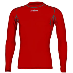 Mitre Neutron Compression Top Scarlet