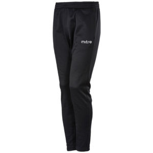 Mitre Primero Poly Training Trousers Black