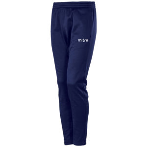 Mitre Primero Poly Training Trousers Navy