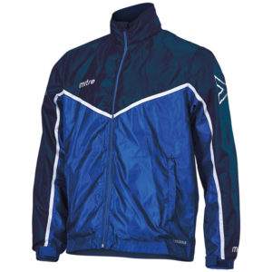 Mitre Primero Rain Jacket Navy Royal White