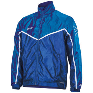 Mitre Primero Rain Jacket Royal White