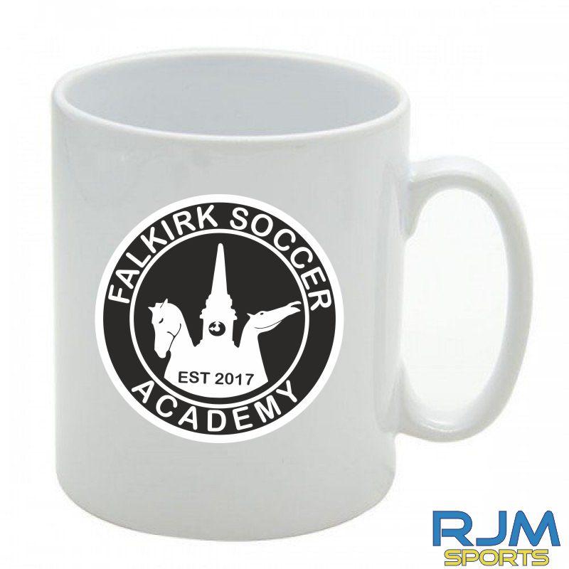 Falkirk Soccer Academy Mighty Mug White1