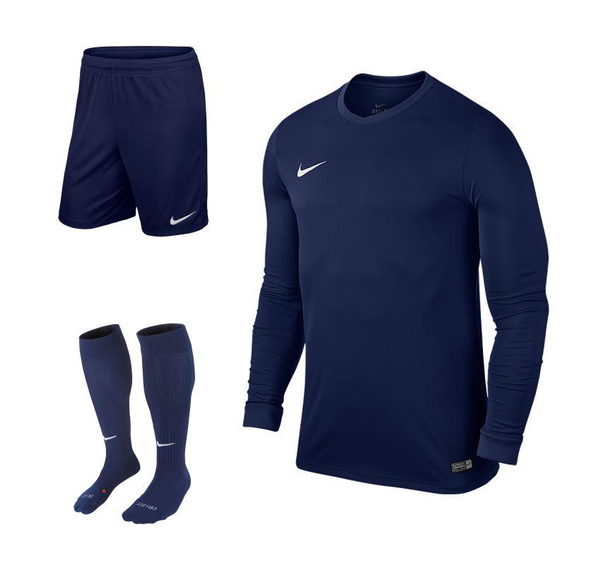 2e3988f2ba2 Nike Park VI Long Sleeve Kit Bundle Navy Set of 15 • RJM Sports