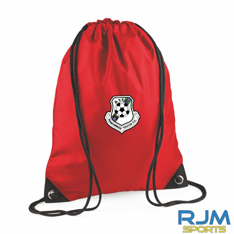Bonnybridge Youths FC Draw String Bag Red