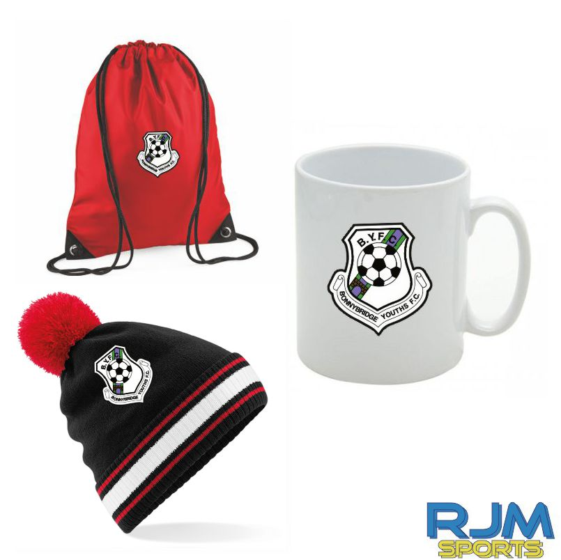 Bonnybridge Youth FC Combo Deal Mighty Mug, Bobble Hat & Draw String Bag