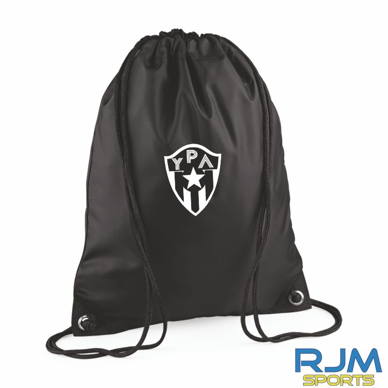 Young Pumas Draw String Bag Black