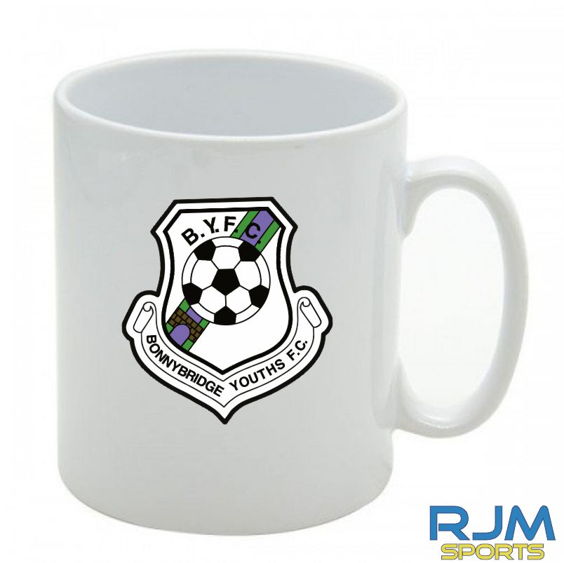Bonnybridge Youths FC Mighty Mug White