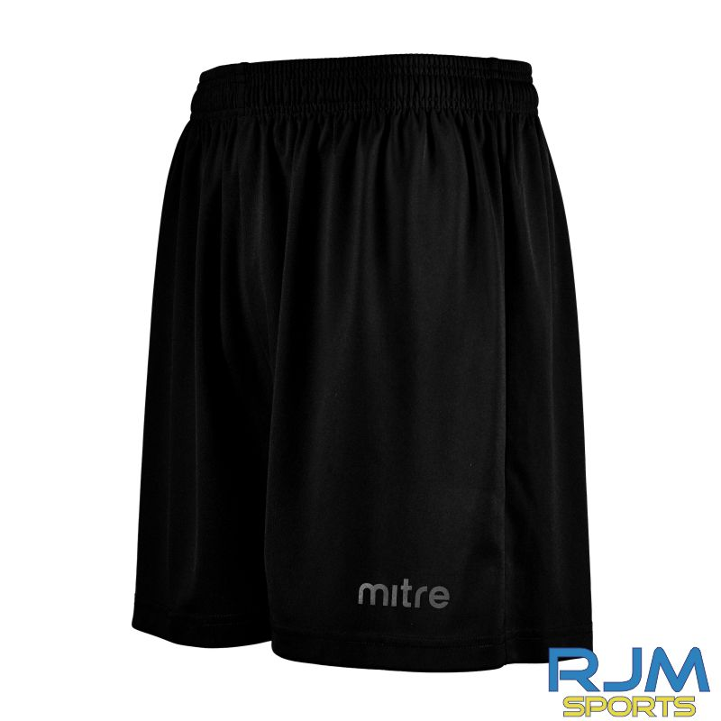 Young Pumas Mitre Metric II Shorts Black