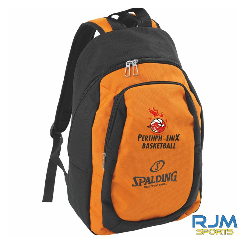 Perth Phoenix Spalding Backpack Essential Orange Black
