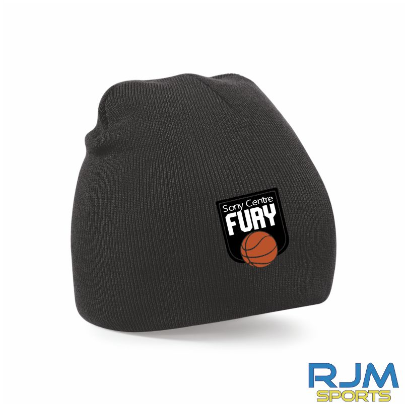 Falkirk Fury Beanie Hat Black