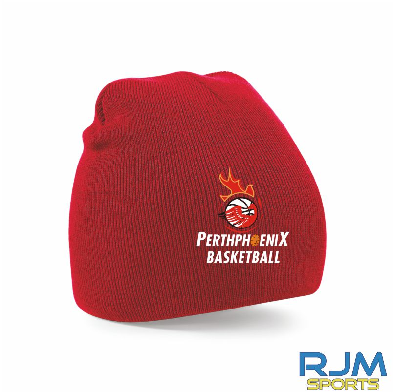 Perth Phoenix Beanie Hat Red