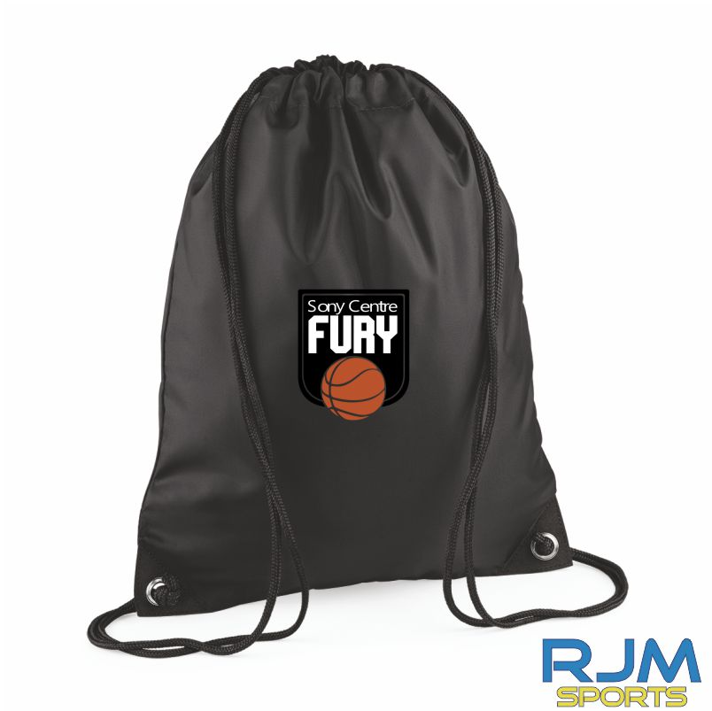 Falkirk Fury Draw String Bag Red Black