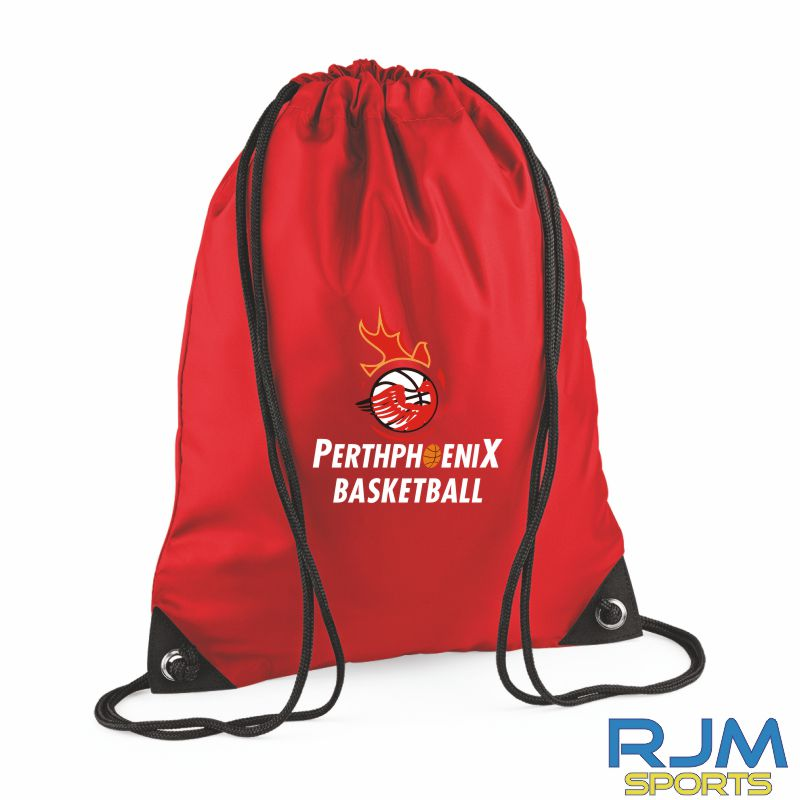 Perth Phoenix Draw String Bag Red