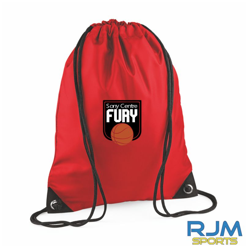 Falkirk Fury Draw String Bag Red