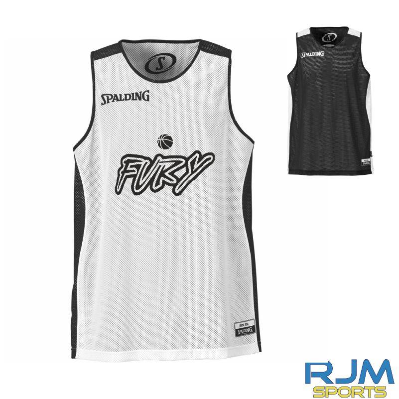 002a06b97b0d Falkirk Fury Essential Reversible Vest Black White