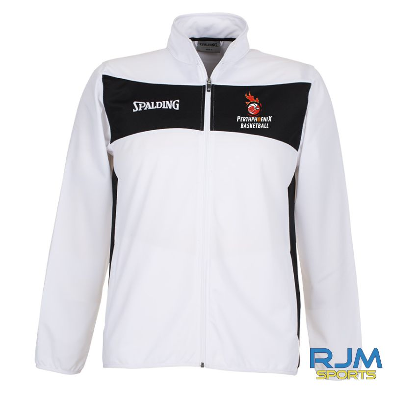 Perth Phoenix Spalding Evolution II Classic Jacket White Black