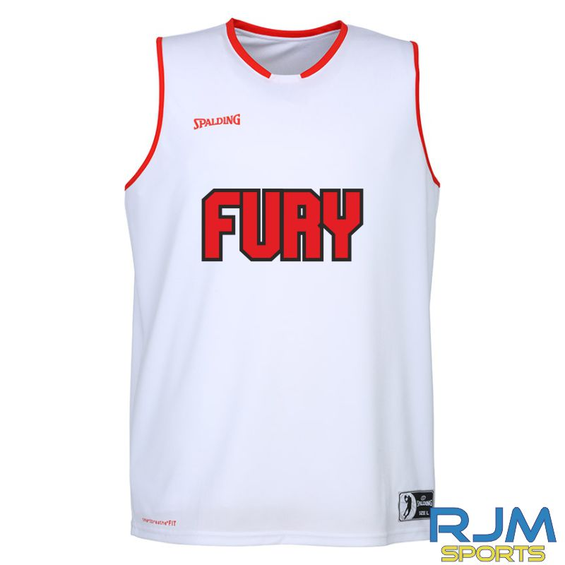 Falkirk Fury Move Tank Top - Home Replica White Red