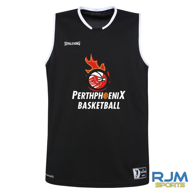 Perth Phoenix Move Tank Top Black White