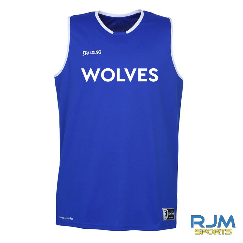 WLW Move Tank Top - Away Replica Royal White