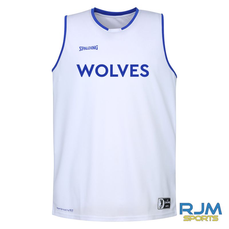WLW Move Tank Top - Home Replica White Royal