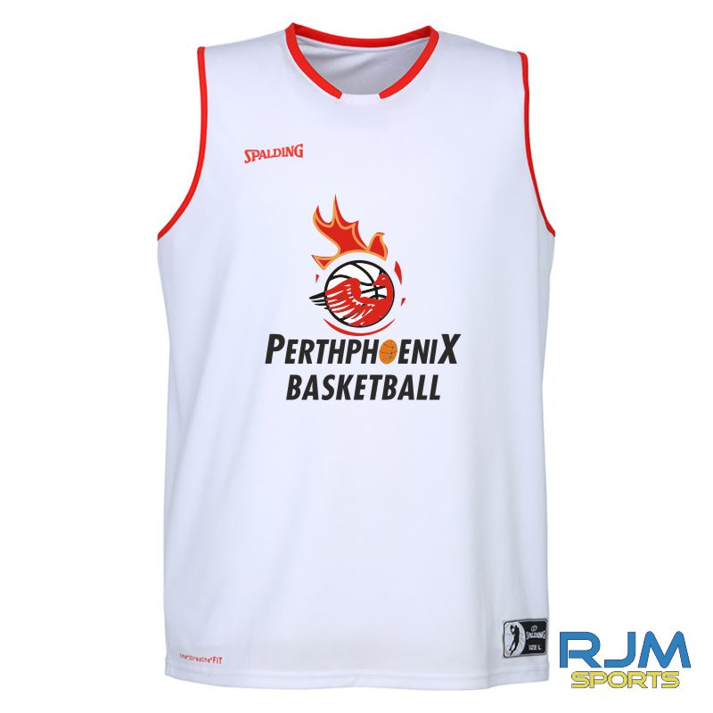 Perth Phoenix Move Tank Top White Red