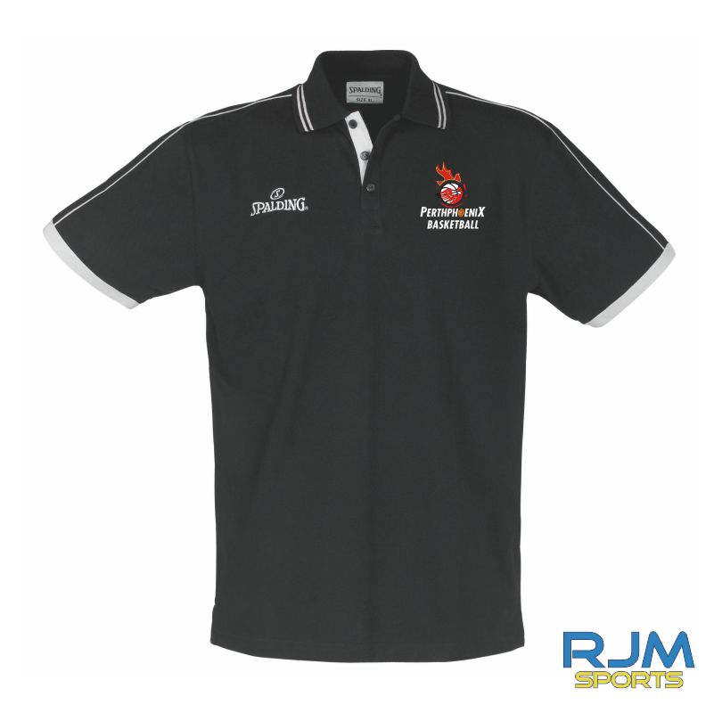 Perth Phoenix Polo Shirt Black