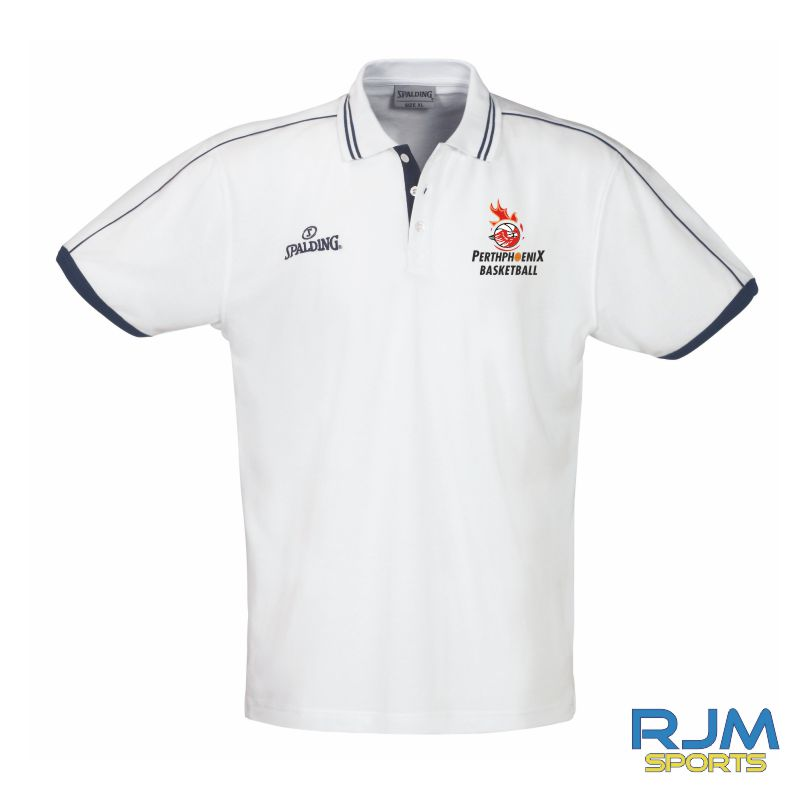 Perth Phoenix Polo Shirt White