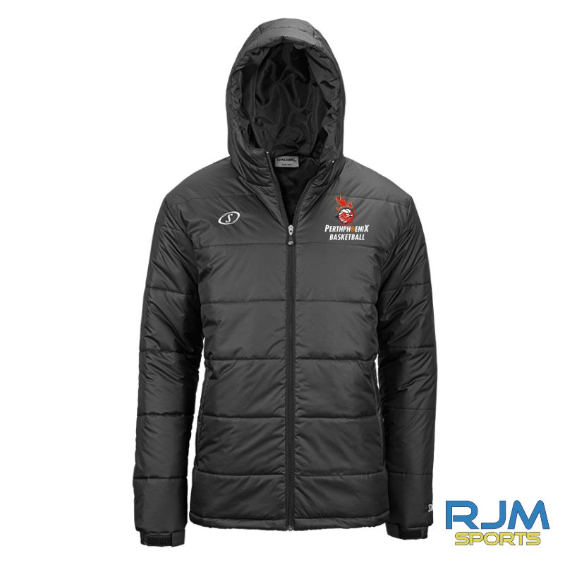 Perth Phoenix Puffa Jacket Black