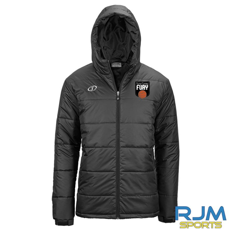 Falkirk Fury Puffa Jacket Black