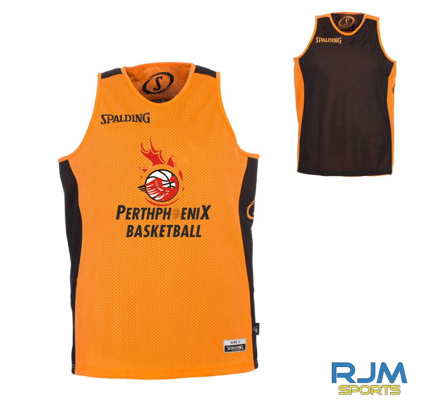 Perth Phoenix Essential Reversible Vest Orange Black