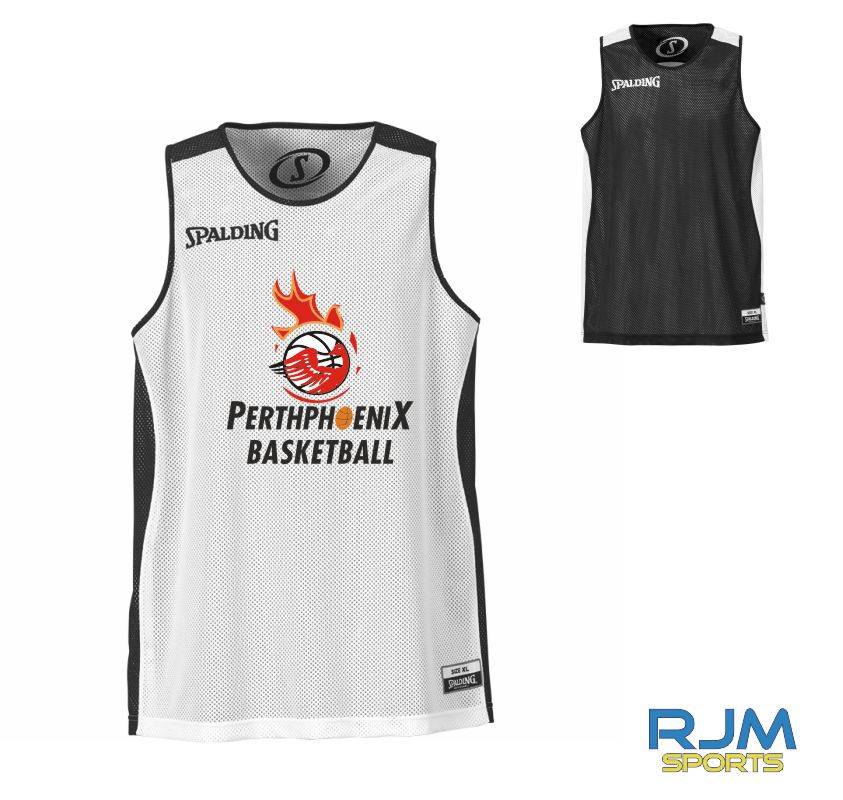 Perth Phoenix Essential Reversible Vest Black White
