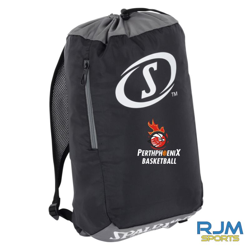 Perth Phoenix Sackpack Black Anthra White