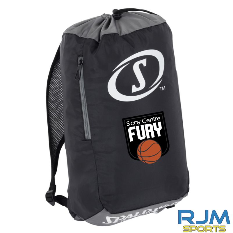 Falkirk Fury Sackpack Black Anthracite White